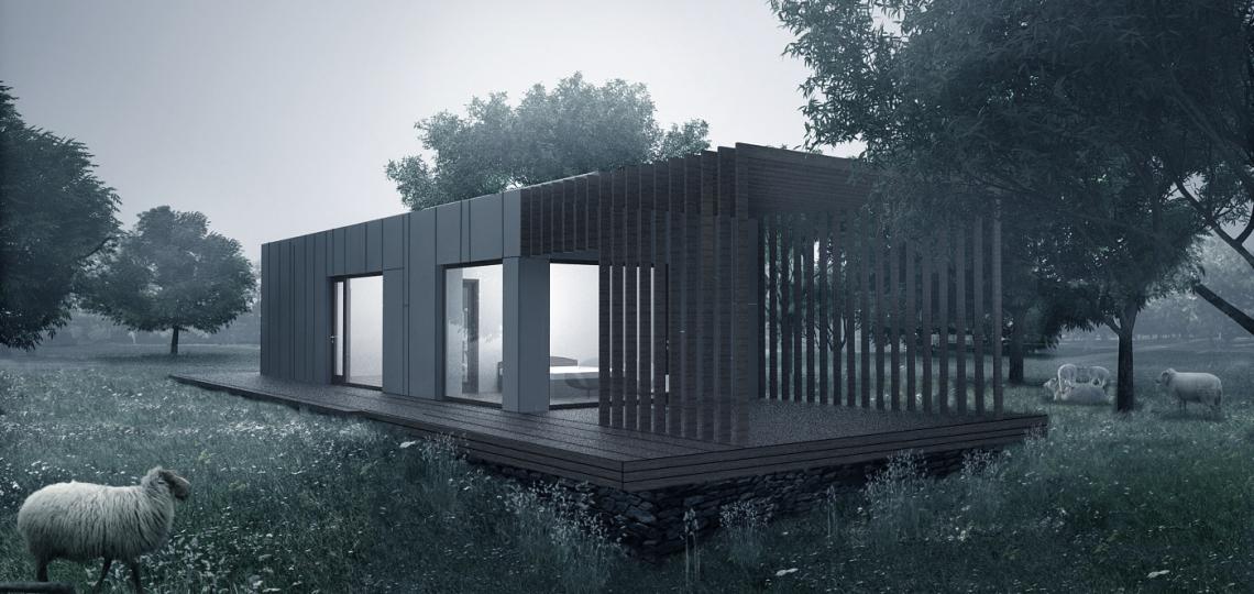 проект модульного дома пример