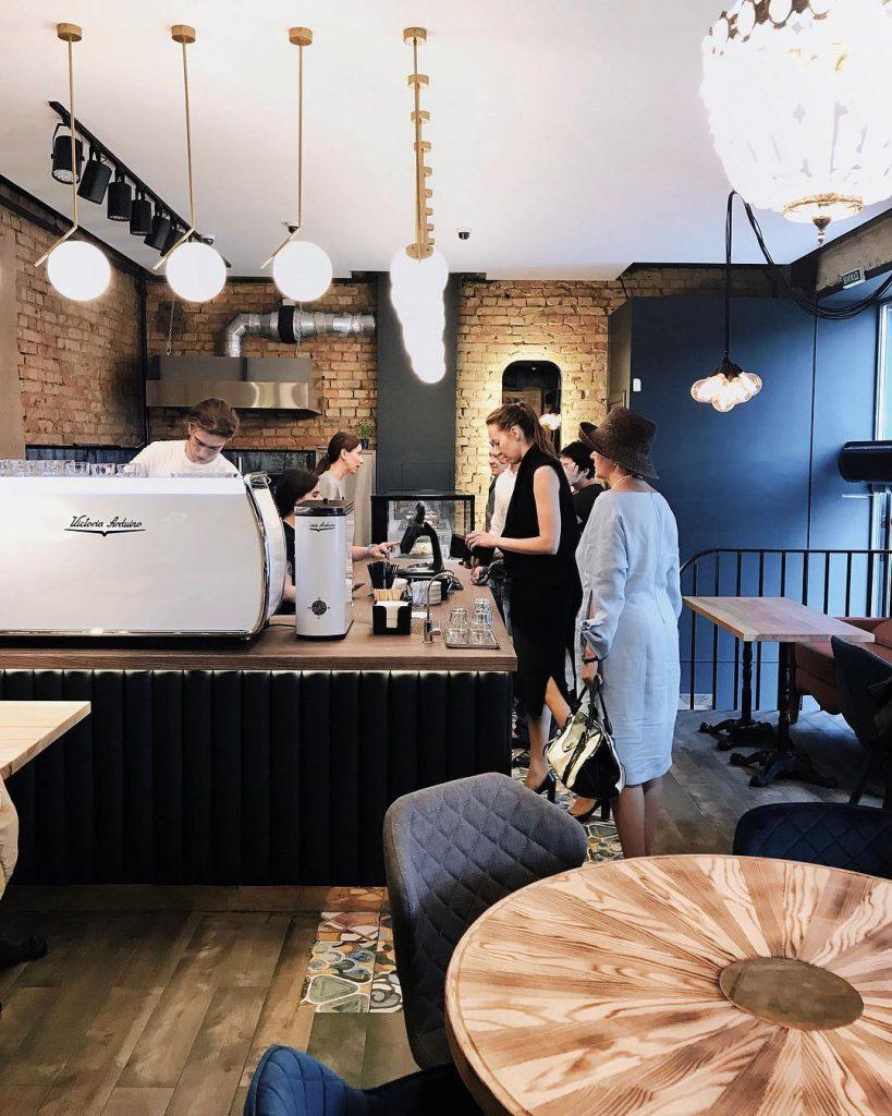 проект кофейни coffee and the city