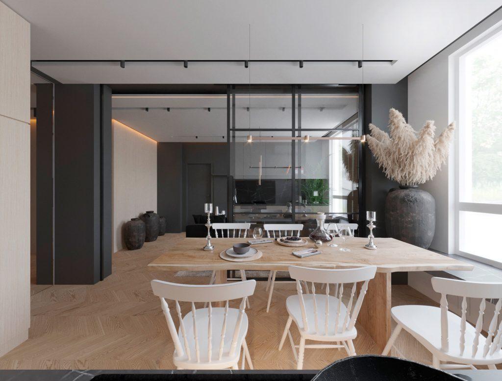 Interior Design Apartment RC «Green Side»