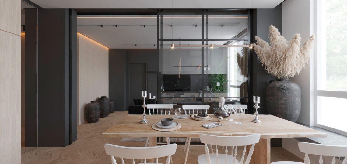 дизайн интерьера квартиры пример