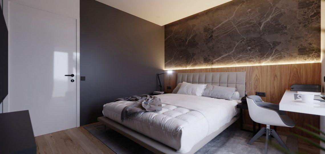 интерьер двухкомнатной квартиры проект заказать