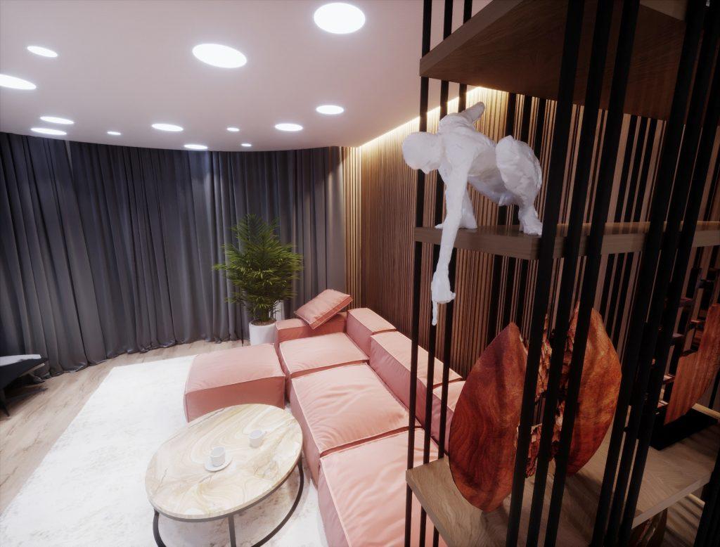 Apartment Interior Livingroom