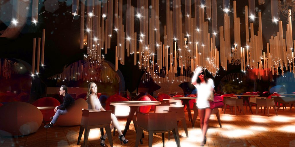 Design project Cocktail Bar Batumi