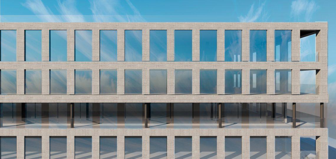 проект офисного здания план