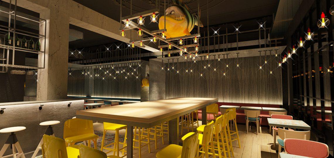 дизайн ресторанов пример