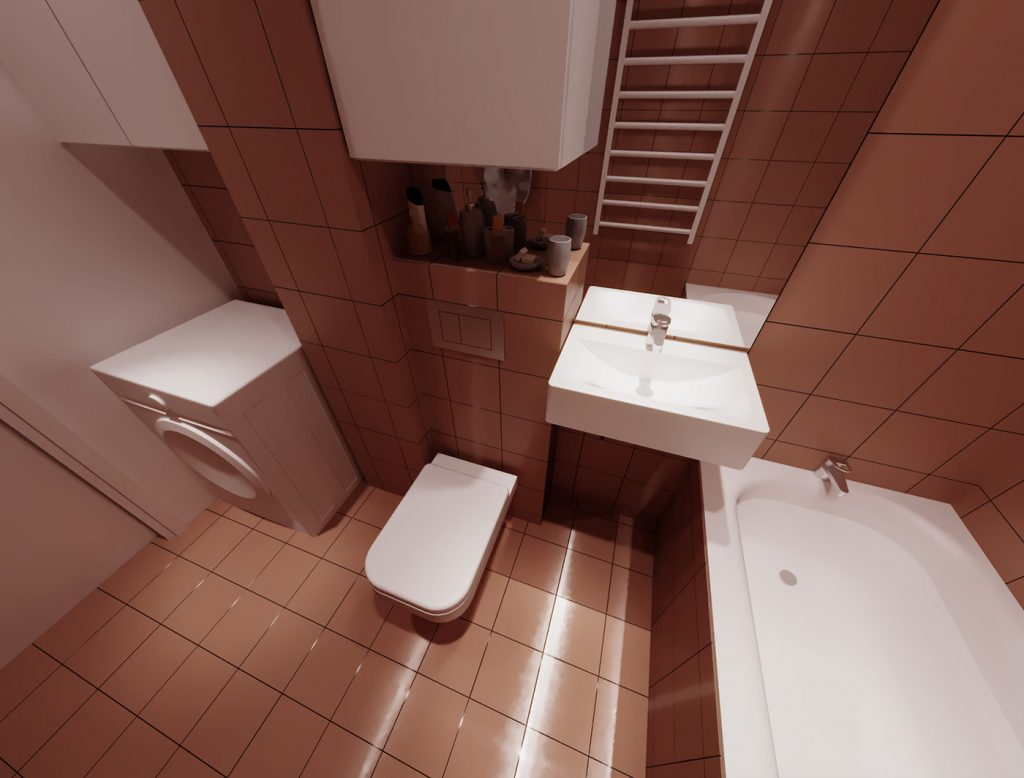 Interior design bathdroom