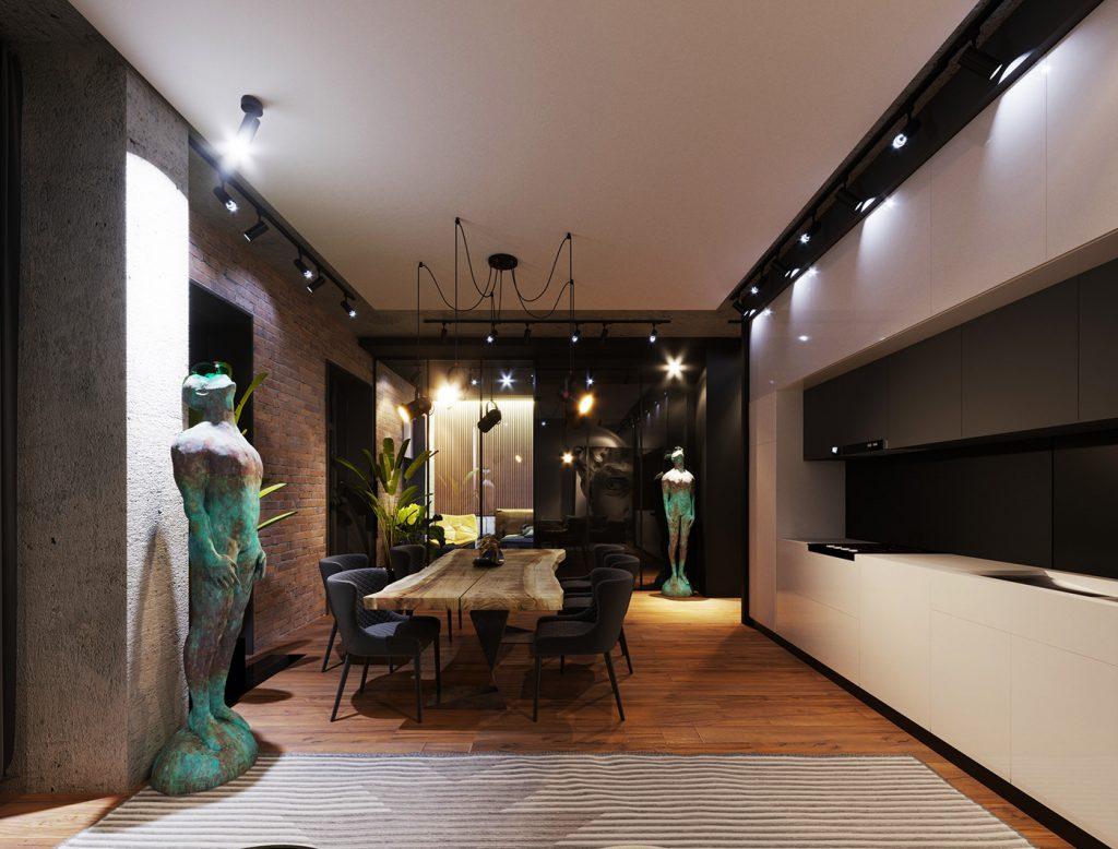 Moscow AFI Residence Kompository Apartment